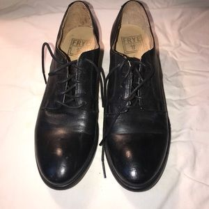 New Frye loafers, beautiful leather!